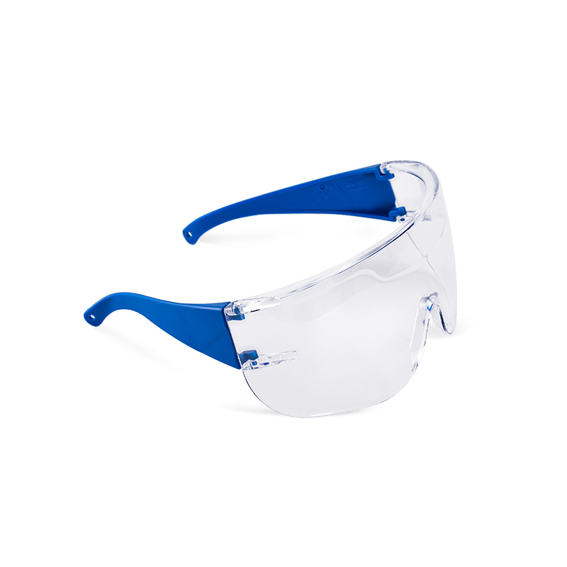 Óculos azuis com lente policarbonato resistente