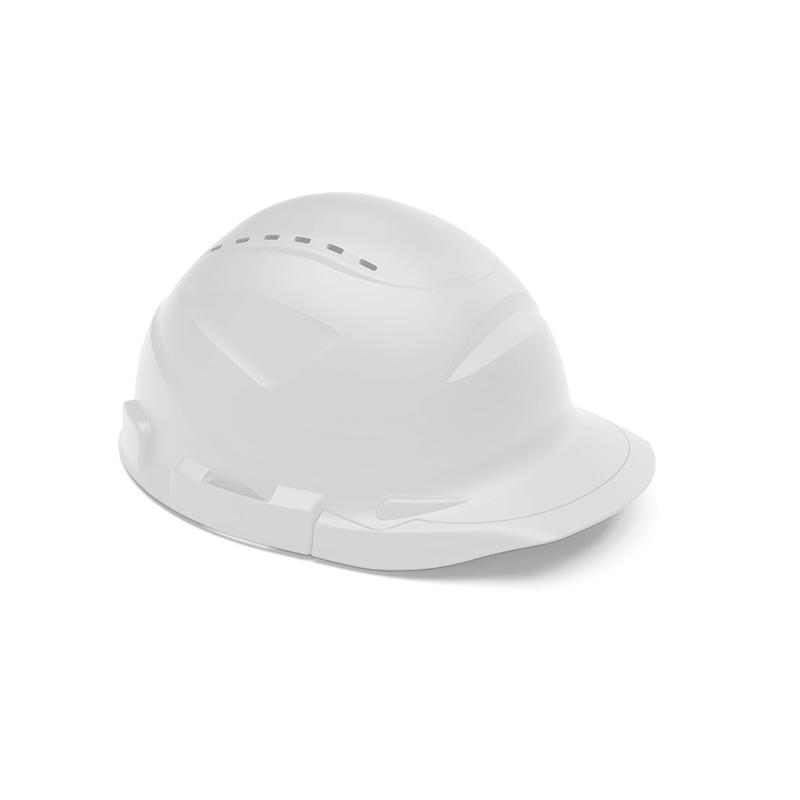 Capacete branco de proteção