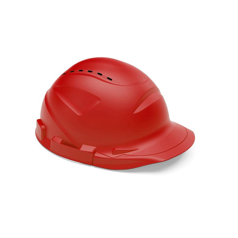 Capacete vermelho de proteção
