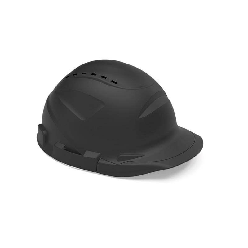 Capacete preto de proteção